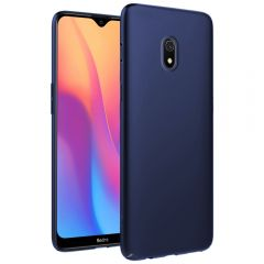 Ultra Slim Matte Back Case Cover for Redmi 8A - Metallic Blue
