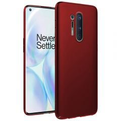 Ultra Slim Matte Back Case Cover for OnePlus 8 Pro - Wine Red