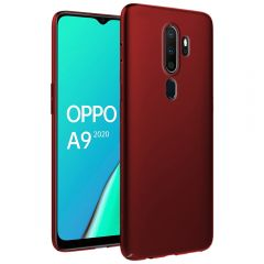 Ultra Slim Matte Back Case Cover for Oppo A9 2020 - Wine Red