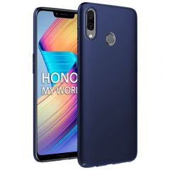 Ultra Slim Matte Back Case Cover for Huawei Honor Play - Metallic Blue
