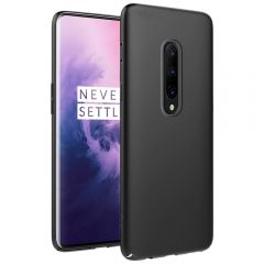 Ultra Slim Matte Back Case Cover for OnePlus 7 Pro - Jet Black