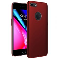 Ultra Slim Matte Back Case Cover for iPhone 8 - Wine Red