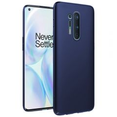 Ultra Slim Matte Back Case Cover for OnePlus 8 Pro - Metallic Blue