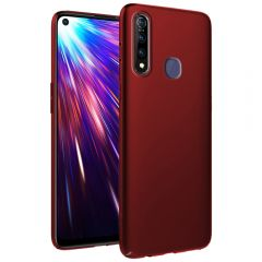 Ultra Slim Matte Back Case Cover for Vivo Z1 Pro - Wine Red