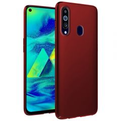 Ultra Slim Matte Back Case Cover for Samsung Galaxy M40 - Wine Red