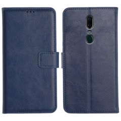 Oppo A9 2020 Magnetic Flip Cover Leather Finish Mobile Case