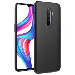 Ultra Slim Matte Back Case Cover for Realme X2 Pro - Jet Black