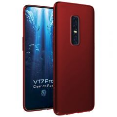 Ultra Slim Matte Back Case Cover for Vivo V17 Pro - Wine Red