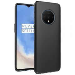 Ultra Slim Matte Back Case Cover for OnePlus 7T - Jet Black