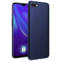 Ultra Slim Matte Back Case Cover for Oppo K1 - Metallic Blue