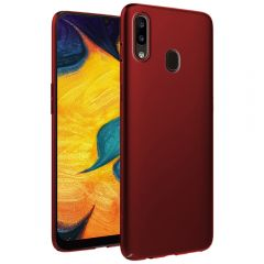 Ultra Slim Matte Back Case Cover for Samsung Galaxy A30 - Wine Red