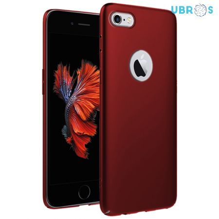 Ultra Slim Matte Back Case Cover for iPhone 6 - Wine Red